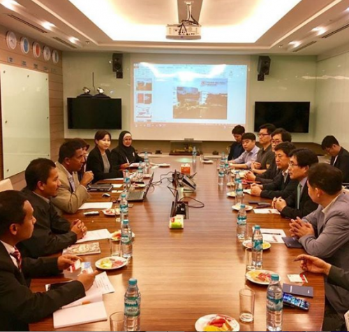 Meeting with Smart Manufacturing (Automation and Robotics) from ASEAN Korea Centre
