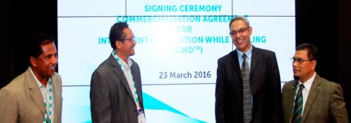 Signing Ceremony Commercialisation Agreement For Intelligent Circulation While Drilling (iCWD) MIT Technologies Petronas