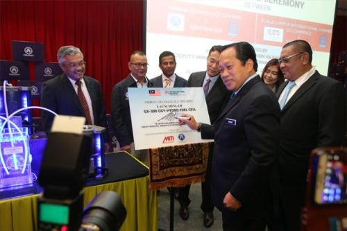 Launching of GX-300 OXY Hydro Fuel Cell