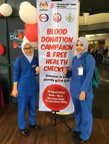 TPM Blood Donation Campaign & Health Checkup