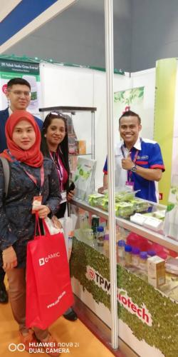 TPM Biotech at Malaysia International Halal Expo (MIHAS) 2018 at MITEC