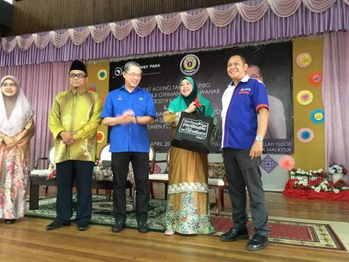 TPM's MOSTI Social Innovation Project: Qamus Digital Pro 17 at Kuching, Sarawak
