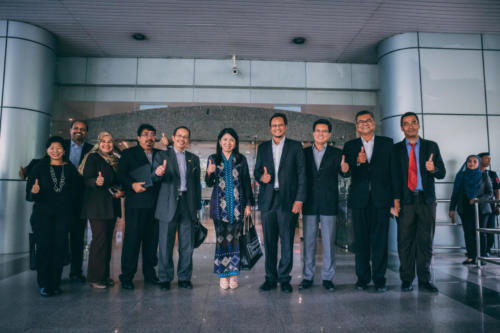Inaugural visit by YB Yeo Bee Yin, Minister of Ministry of Energy, Science, Technology, Environment, and Climate Change (MESTECC)
